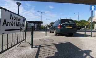 Un arrêt minute a été créé à la Poterie à Rennes pour faciliter le covoiturage.