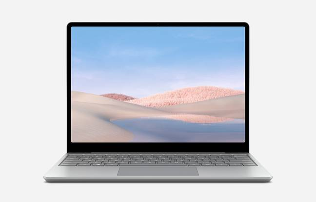 The Surface Laptop Go PC is great for working but limited for multimedia.