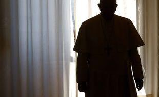 Le pape François au Vatican le 10 avril 2015.
