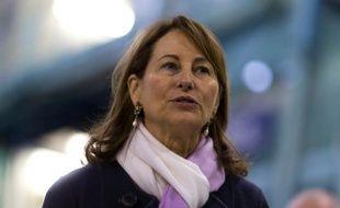 La ministre de l'Ecologie Ségolène Royal aux Mureaux, le 5 février 2016