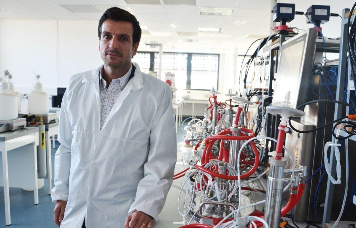 Emmanuel Petiot, directeur général de Deinove. – N. Bonzom / Maxele Presse