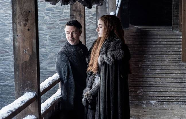 Sansa Stark et Lord Baelish dans la saison 7 de «Game of Thrones»