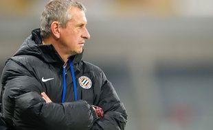 Avec Bruno Martini, Pascal Baills (ici en 2013) sera chargé de maintenir Montpellier.