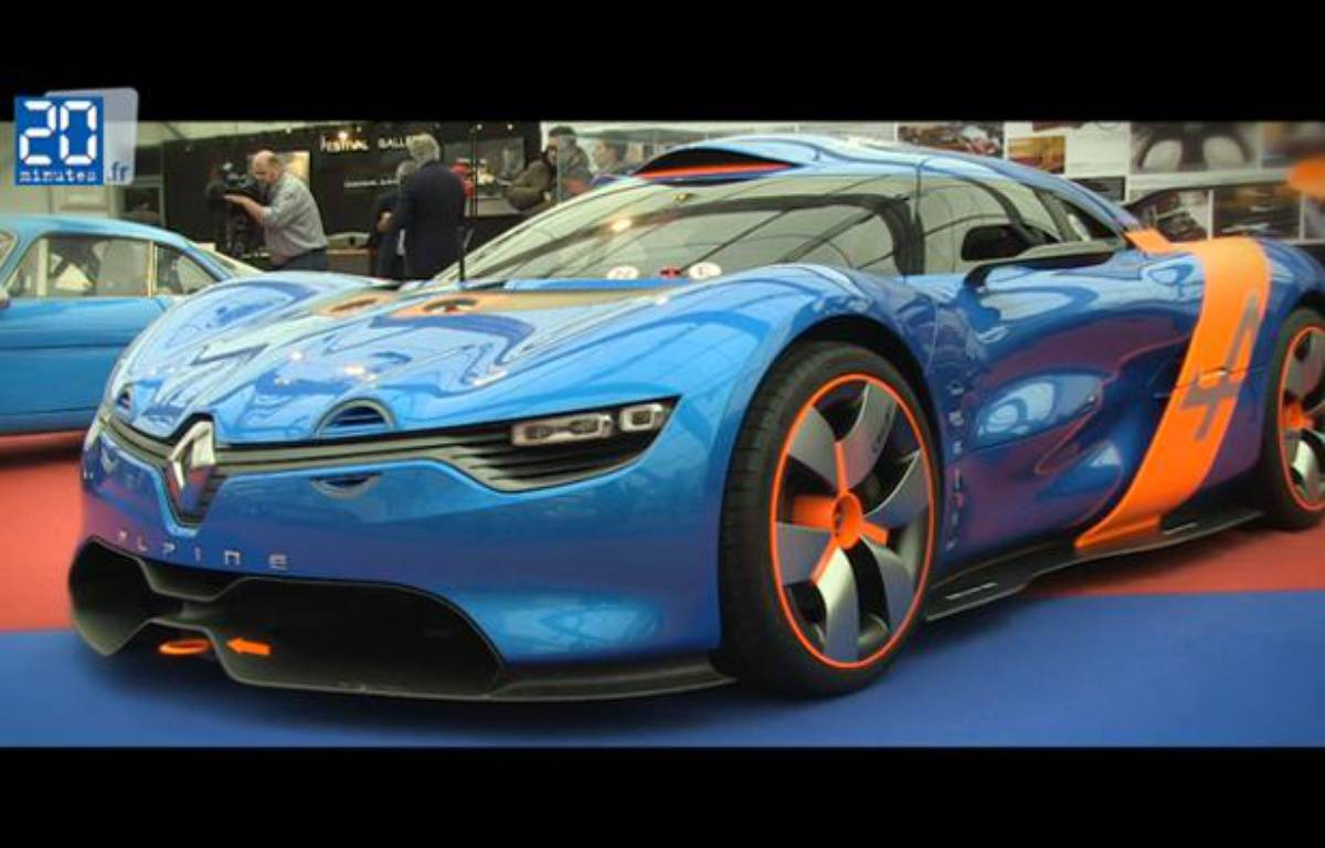 Renault Alpine A110-50 – Jonathan Duron / 20 Minutes