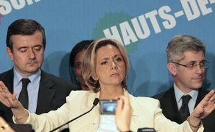 Valérie Pécresse, qui n'a pas réussi à arracher l'Ile-de-France à Jean-Paul Huchon lors du second tour des régionales, le 21 mars 2010