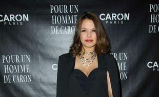 Séverine Ferrer, ancien présentatrice de « Fan de », en mars 2017.