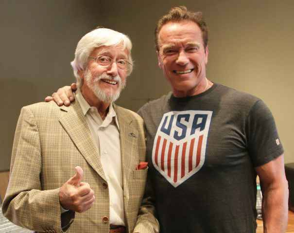 Arnold Schwarzenegger fera bien équipe avec James Cameron — Terminator