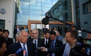Jean-Marc Ayrault le 11 juillet 2013 à Bucarest