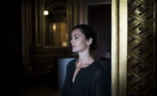 Aurelie Dupont dans les coulisses de l'Opera Garnier le 23 septembre 2017.