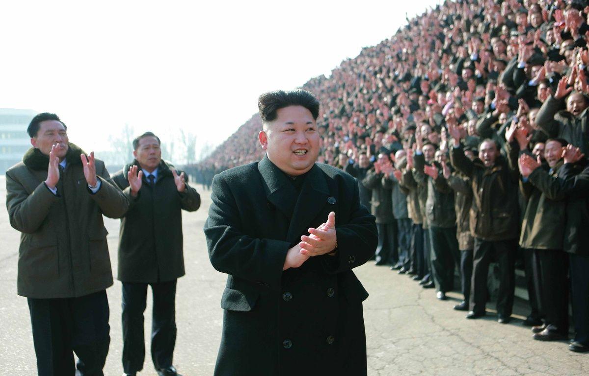 Kim Jong-Un, à Pyongyang, le 13 février 2015. – KCNA/CHINE NOUVELLE/SIPA/SIPA