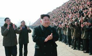 Kim Jong-Un, à Pyongyang, le 13 février 2015.