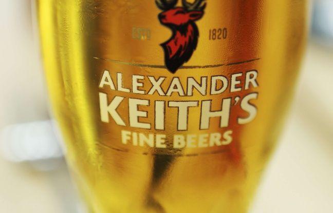 Illustration: Une bière Alexander Keith.