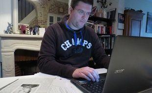 Grégory Célerse recherche depuis huit ans les méthodes de travail de la gestapo pendant l'Occupation.