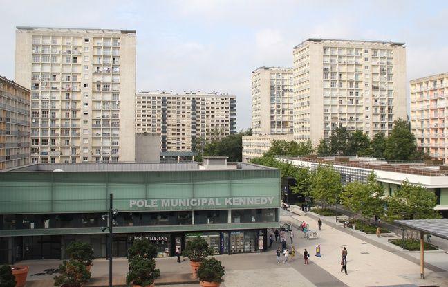 La dalle Kennedy dans le quartier de Villejean à Rennes.