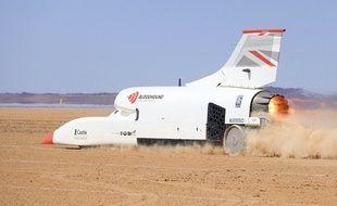 Bloodhound: le véhicule supersonique franchit la barre des 1000 km/h