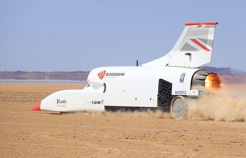 Bloodhound : Le véhicule supersonique franchit la barre des 1.000 km/h