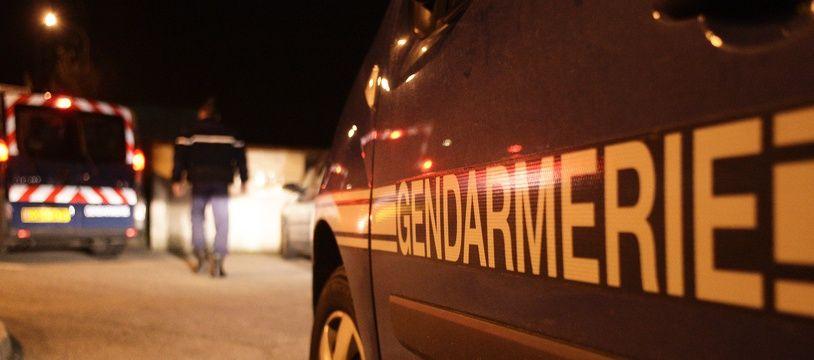 Des véhicules de gendarmerie (illustration).