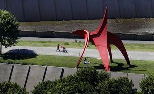 Une sculpture de Calder à Seattle le 27 mai 2020 (illustration).