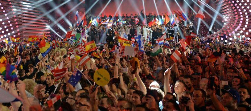 A l'Eurovision 2015, à Vienne...