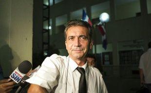 Bruno Odos le 14 août 2015 à Saint-Domingue