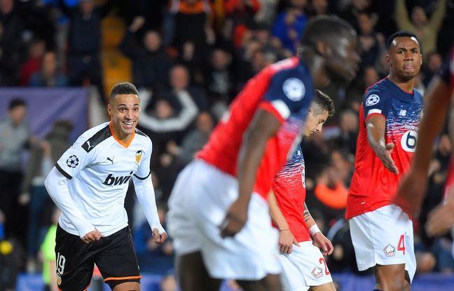 Valence-Losc: Largement battu, Lille est éliminé de la Ligue des champions