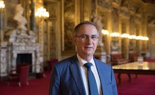 Michel Amiel au Sénat, en 2018.