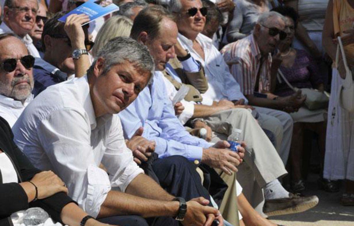 L'ancien ministre Laurent Wauquiez à Nice, le 25 août 2012.  – B. BEBERT/SIPA