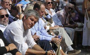 L'ancien ministre Laurent Wauquiez à Nice, le 25 août 2012.
