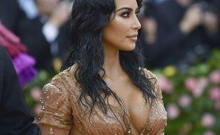 Kim Kardashian à New York.