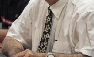 Jean-Louis Joffret, chef du service risque de la Communauté du Pays d'Aix, hier.