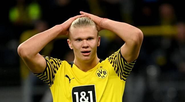 Borussia Dortmund : Blessé à la hanche, Haaland sera absent « plusieurs semaines » selon son coach