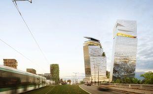 Le projet des tours Duo  voir le jour en 2020, dans le 13e arrondissement de Paris.