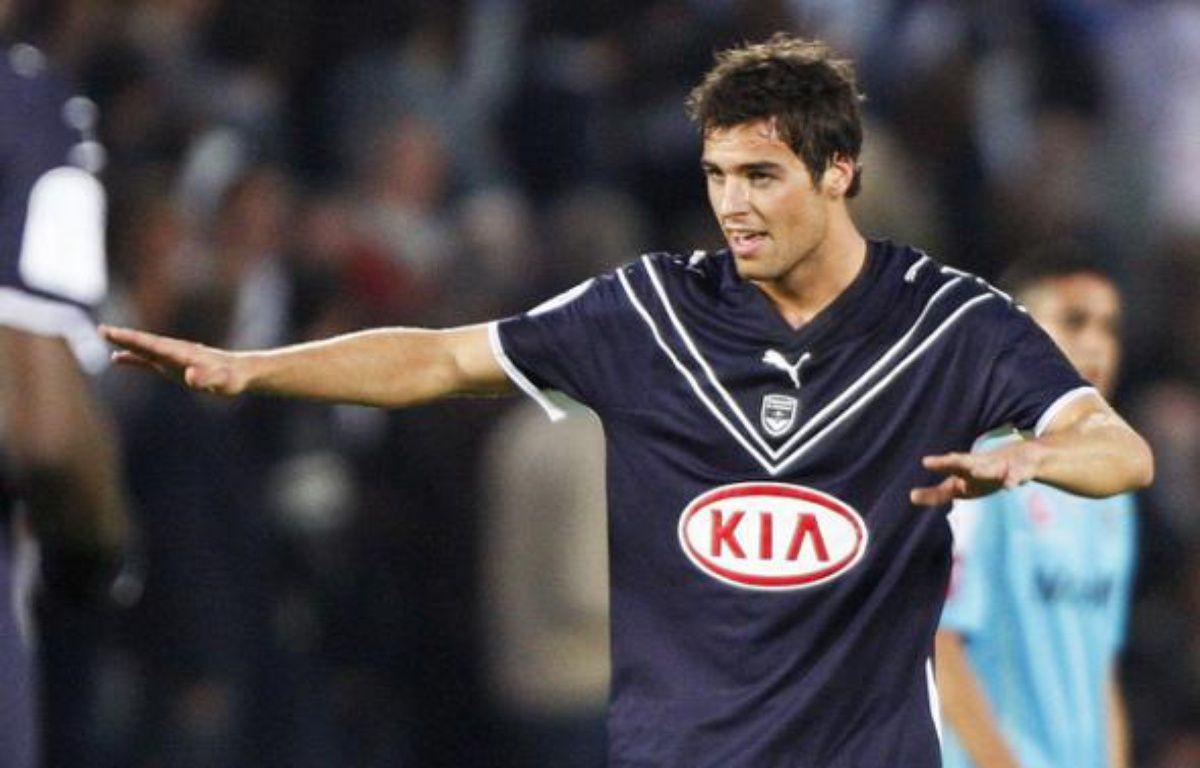 Yoann Gourcuff décisif avec Bordeaux face à Sochaux, le 3 mai 2009. – REUTERS/Regis Duvignau