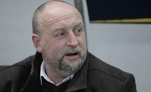 Franck Dumas, manager général du club de Caen, ici en janvier 2012.