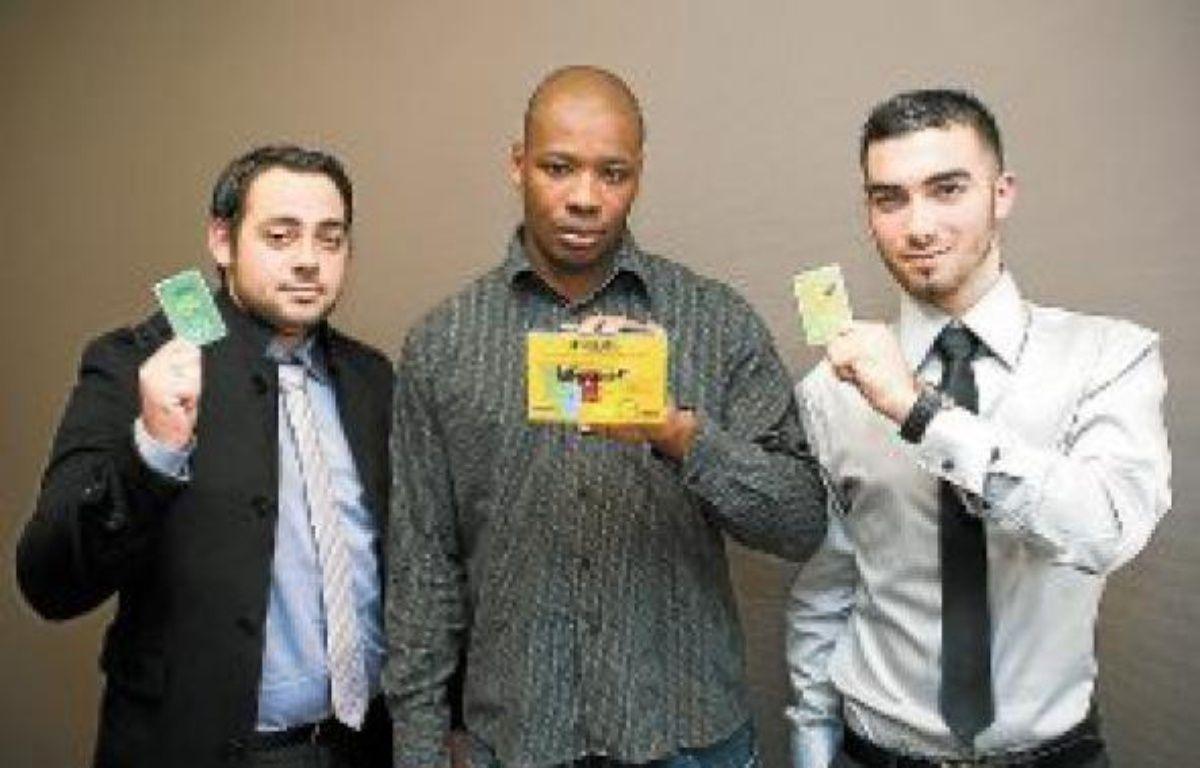 Julien, Mouki et Romain, trois amis vivant en banlieue, lancent un jeu. –  V. WARTNER / 20 MINUTES