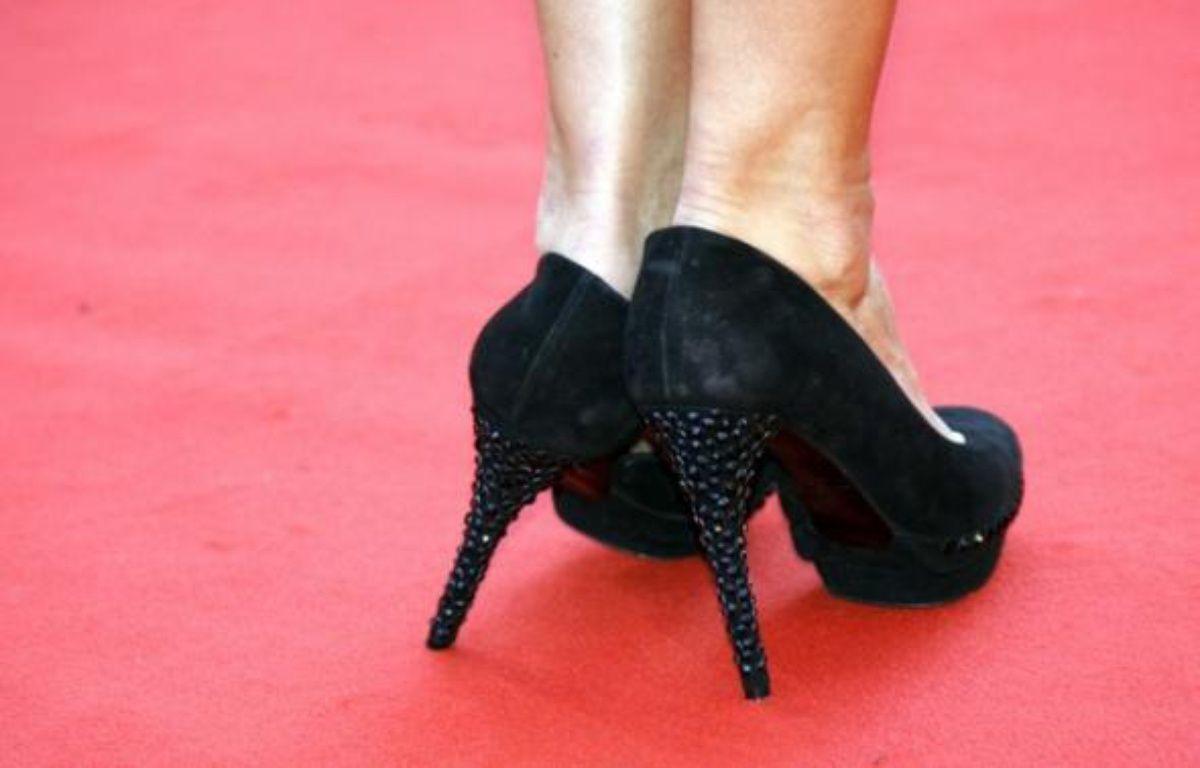 Une paire de chaussures sur le tapis rouge de Cannes lors de la première du film Le Prophète   – NIKO/NIVIERE/LYDIE/SIPA
