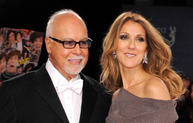 René Angélil et Céline Dion, le 22 novembre 2012.