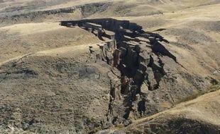Une faille s'est ouverte dans le Wyoming.