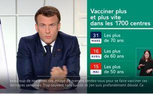Coronavirus: Macron fait le point sur le calendrier de la vaccination