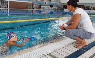 Le petit Rayan rêve d'intégrer le Cercle des nageurs.
