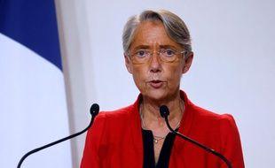Elisabeth Borne, ministre du Travail, le 12 novembre 2020 à Paris.