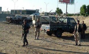 Des soldats yéménites à Aden le 18 frévrier 2015