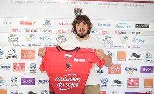 Laurent Delboulbès a signé au RC Toulon le 26 mai 2016