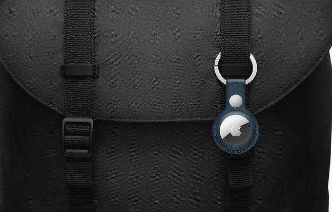 Le tracker AirTag d'Apple pour retrouver un objet égaré.