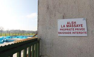 Le centre de loisirs de la Massaye, à Pont-Réan, propriété de la ville de Rennes.