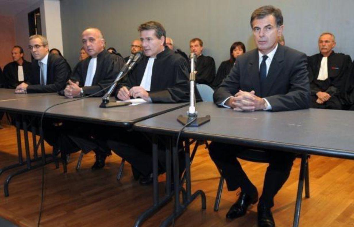 Un des trois hommes interpellés mercredi dans le cadre de l'enquête sur le meurtre de l'avocate tuée fin novembre à Marseille, a été déféré devant la justice vendredi matin, a annoncé le procureur de la République de Marseille, Jacques Dallest. – Franck Pennant afp.com