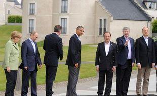 Les dirigeants du G8 à Lough Erne, en Irlande du Nord, le 18 juin 2013.
