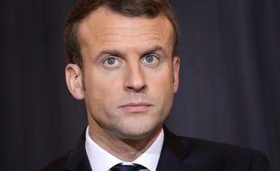 Emmanuel Macron a prononcé un discours sur la justice, le 15 janvier 2018, à l'occasion de la rentrée solennelle de la Cour de cassation.