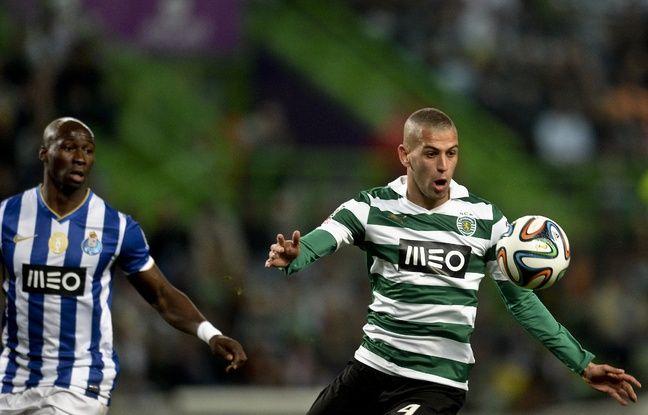 Ici face à Porto et Mangala, Islam Slimani n'a découvert l'Europe que lors de la saison 2013-2014 avec le Sporting.