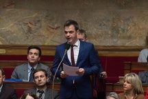 Olivier Véran, député LREM, défend un amendement visant à mettre en place une expérimentation du cannabis thérapeutique.